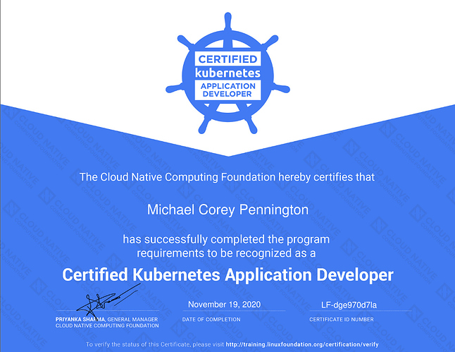 Screenshot_2020-11-19 bf5fbd7a-8cee-5fc5-a77c-b9b589b12e39-michael-corey-pennington-certified-kubernetes-application-develo[...].jpg