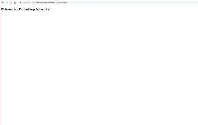 webpage loaded successfully